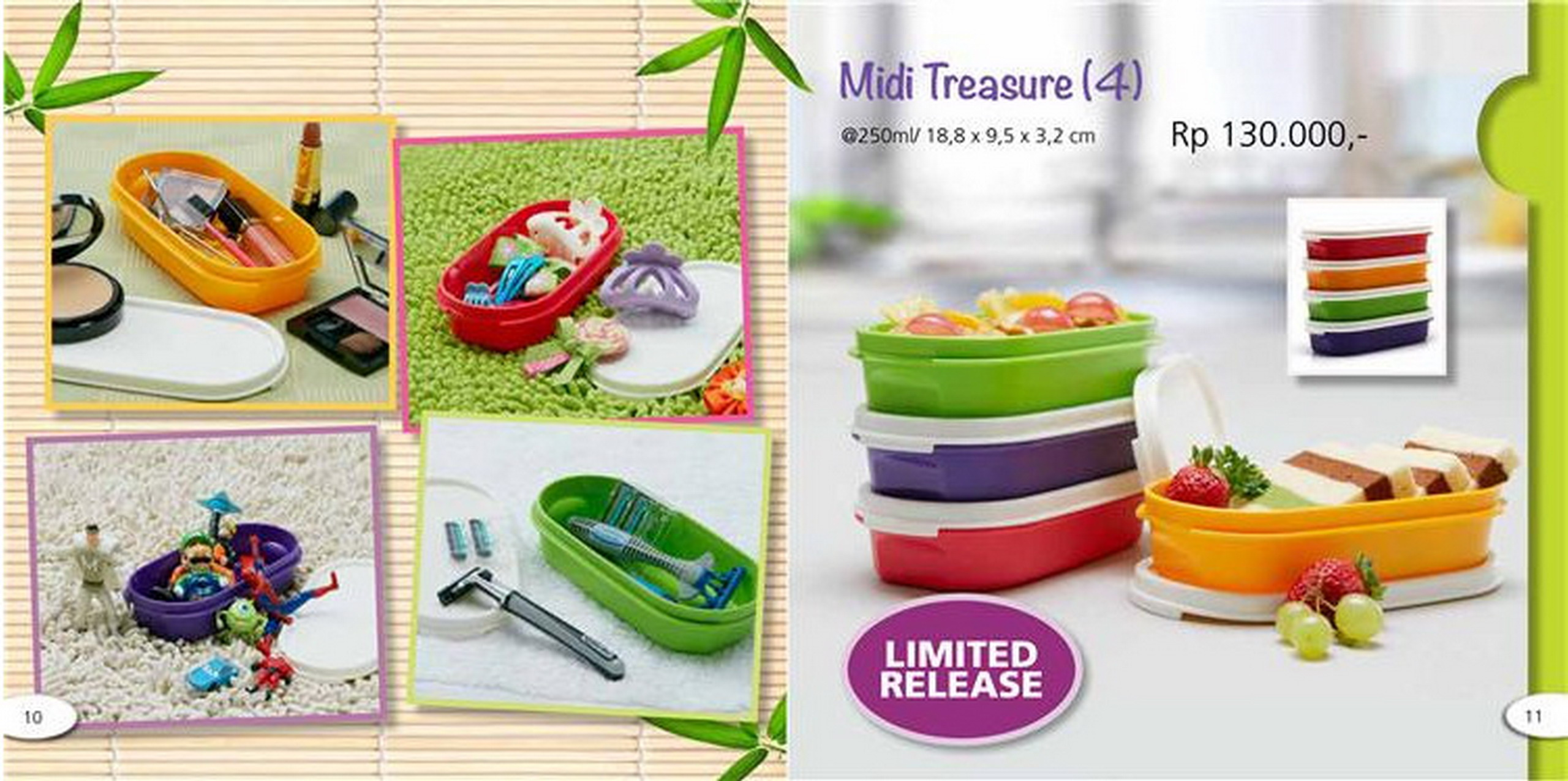 Katalog Tupperware Midi Treasure 4 TUPPERWARE INDONESIA. Katalog ...